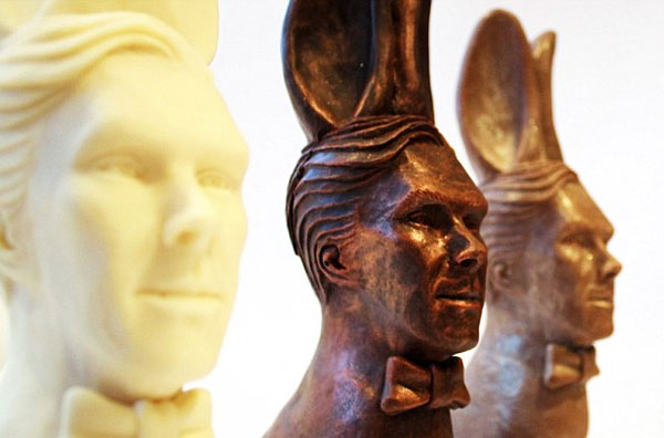 Image of chocolate Easter Benedict Cumberbunny