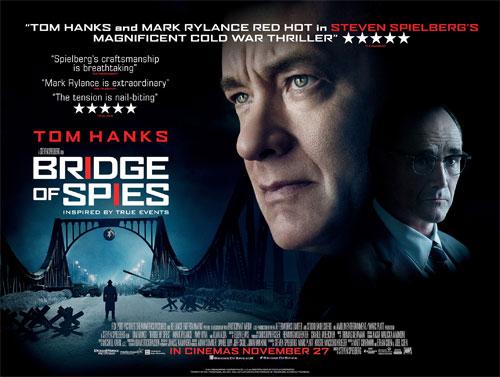 Image of Bridge of Spies poster