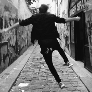 A skip and a jump along an alleyway