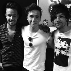 Meeting Liam and Louis Tomlinson after One Direction concert