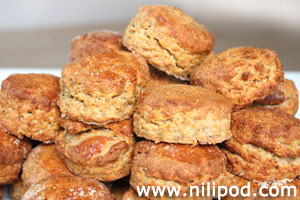 Further image of homemade cheese scones