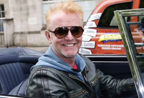 Picture of Chris Evans, new presenter of Top Gear