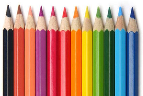 Image of popular colouring-in pencils