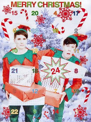 Dan and Phil Advent Calendar