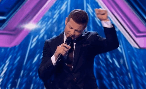 Picture of Dermot O'Leary on the X Factor
