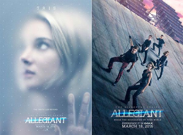 Image of the Divergent Allegiant movie poster