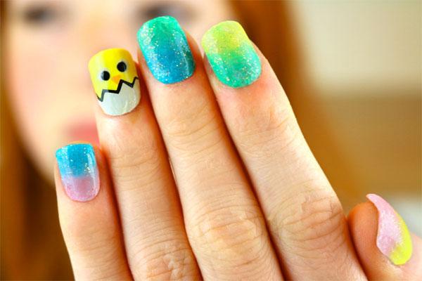 Image of Easter egg nails