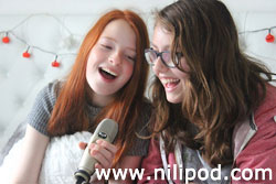 Podcast girls jingle making