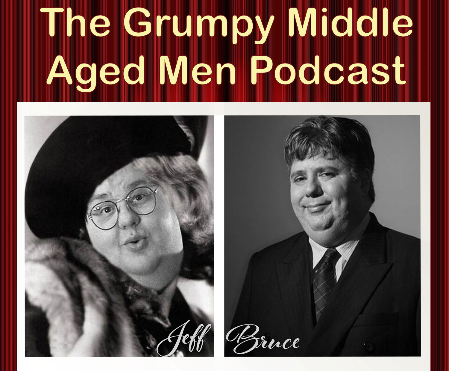 Photo of the Grumpy Middle Aged Men podcast image