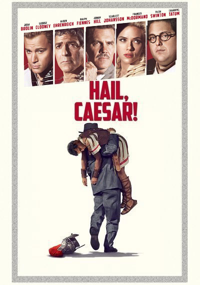 Image of the Hail Caesar movie poster