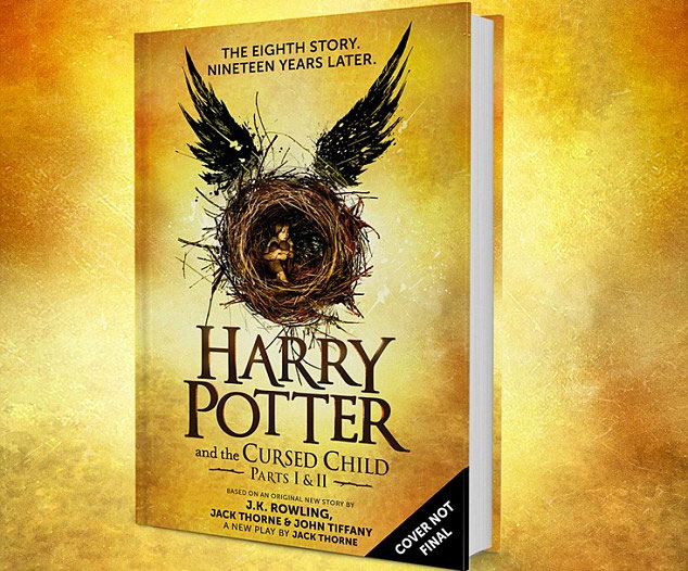 Image of the new Harry Potter book, The Cursed Child