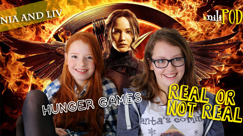 Playing the Hunger Games game for the podcast