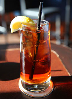 Photo of some iced tea, by Mellisa Doroquez