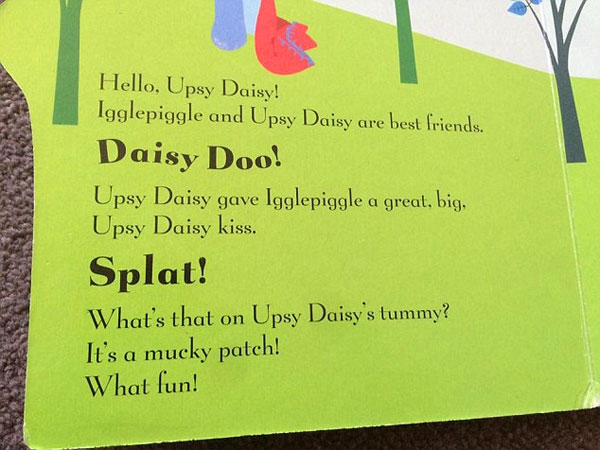 Image of suggestive In The Night Garden book extract