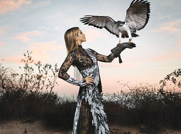 Image of Jennifer Aniston Harper's Bazaar photo shoot