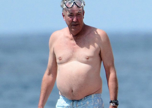 Photo of Jeremy Clarkson's big belly