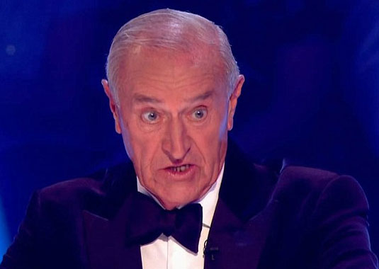 Photo of Strictly's Len Goodman looking cross
