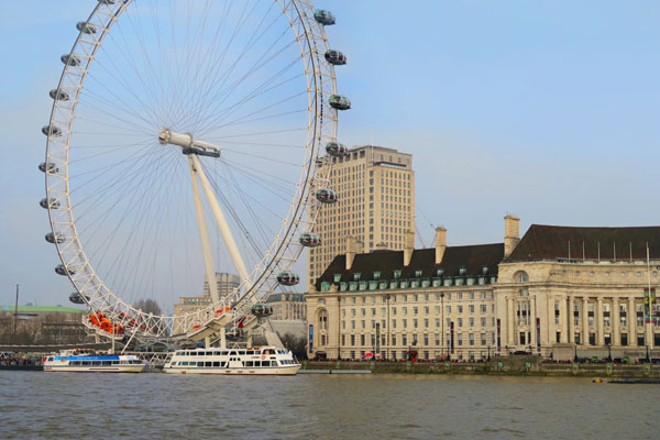 Further image of the London Eye