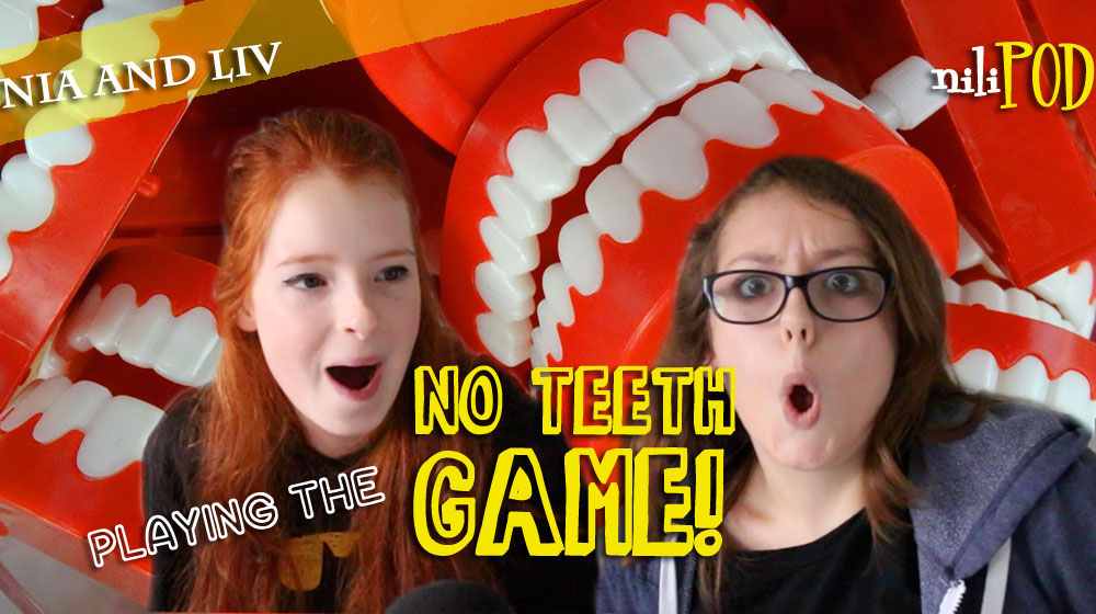 Playing the No Teeth game for the podcast