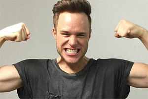 Photo of Olly Murs and his fitness regime