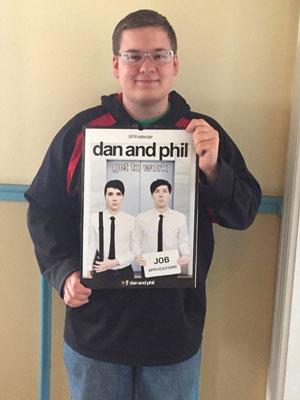 Photo of Dan and Phil calendar
