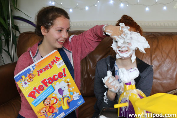 Playing the Pie Face game