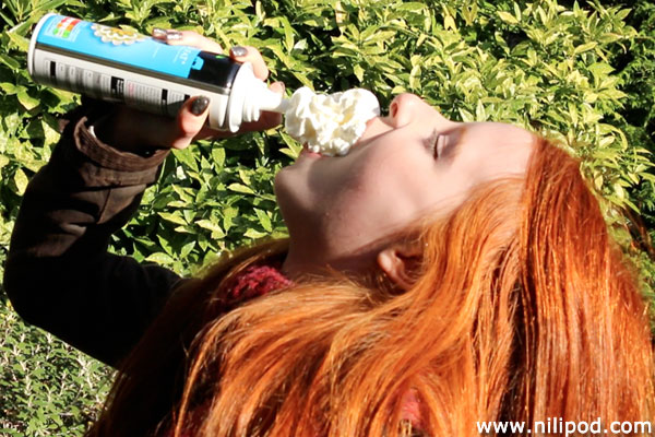 Photo of dare with spray cream