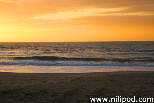 Photo of beach sunrise at Bournemouth