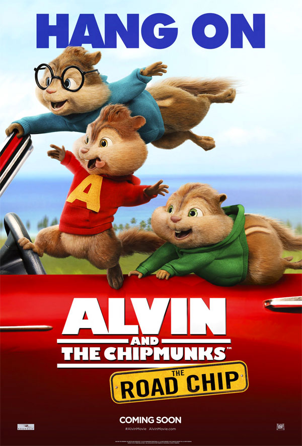 Image of the Chipmunks Road Chip movie poster