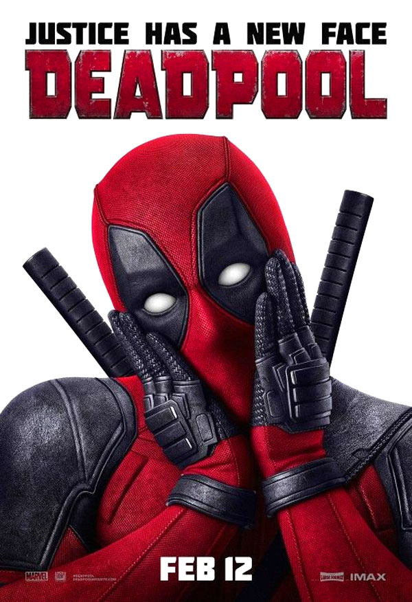 Image of the Deadpool movie poster