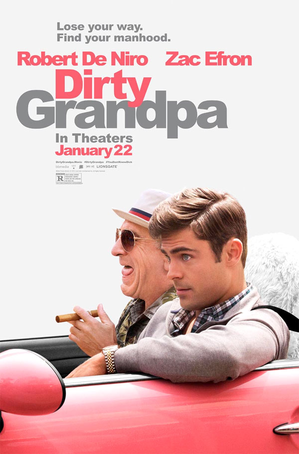 Image of the Dirty Grandpa movie poster