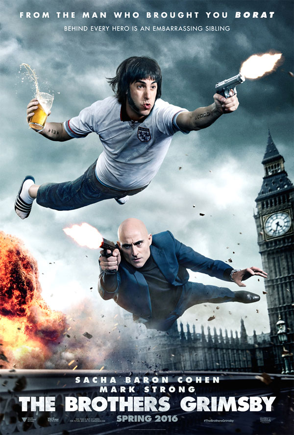 Image of the Grimsby movie poster