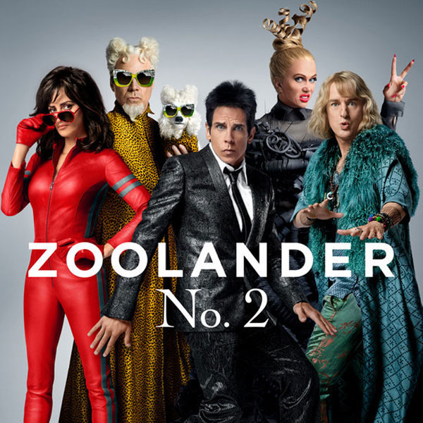 Image of the Zoolander 2 movie poster