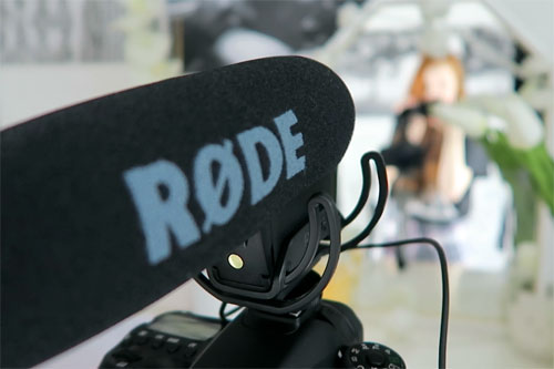 Photo of Rode Pro microphone
