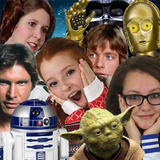 Photo of Star Wars fans