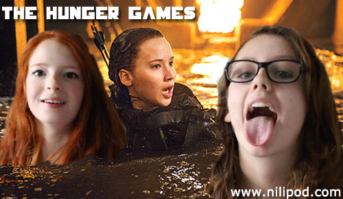 The Hunger Games movie poster spoof