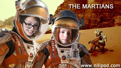 The Martians movie poster spoof