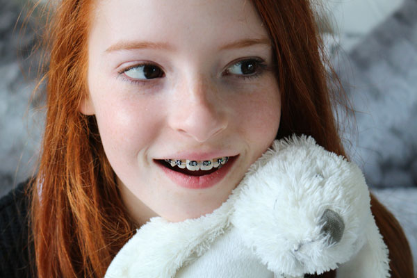 Picture of girl with braces