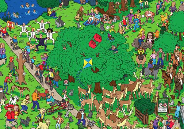 Where's Fenton game, in Richmond Park
