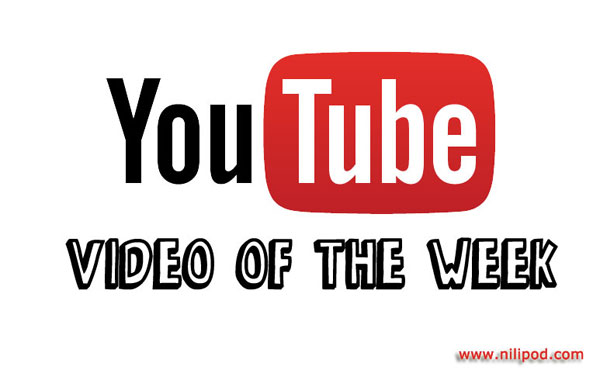 YouTube video of the week logo