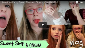 American Candy and Cinema Vlog