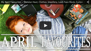 My April Favourites - Matalan Haul, Clothes, Jewellery, Lush Face Mask, Games