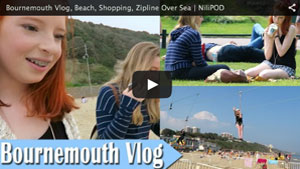 Bournemouth Vlog, Beach, Shopping, Zipline Over Sea