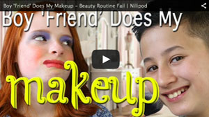 Boy 'Friend' Does My Makeup - Beauty Routine Fail