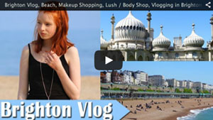 Brighton Vlog, Beach, Makeup Shopping, Lush / Body Shop, Vlogging in Brighton & Hove