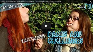Outdoor Dares - Chubby Bunny and Spray Cream