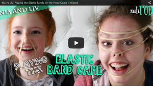 Playing the Elastic Bands on the Head Game - Nia vs Liv