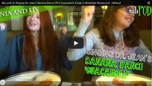 Go Bananas Dance - Dr. Jean's Guacamole Song