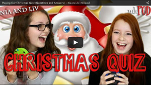 The Great Christmas Quiz - Nia vs Liv
