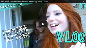 House Sitting Vlog, with a House Tour